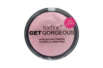 Technic Get Gorgeous Highlighting Powder 12g-Pink Sparkle