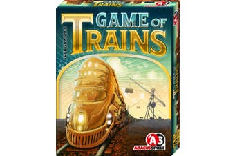AbacusSpiele ABA08161 Game of Trains Card Game