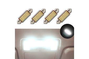 (Festoon 42mm) - Biqing LED Festoon Bulbs 42mm Canbus Error Free White E3175 DE3021 DE3022 LED Car Interior Lights Bulbs 12v 5050 for Vanity Mirror Dome Licence Plate Light