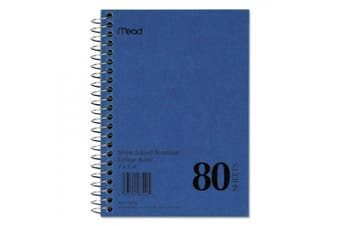 Mead Mid Tier Notebook, Perforated Pages, 11 x 8-1/2, 50 Sheets MEA06552