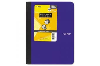 (assorted) - Five Star Composition Book, College Rule, 9 3/4 x 7 1/2, 1 Subject, 100 Sheets, Assorted