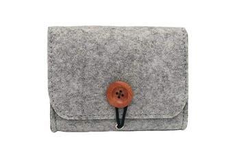 Auony Essential Oil Carrying Case Bag, 6 Bottles Essential Oils Travel Organiser Pouch Bag for 5ML / 10ML / 15ML Oils