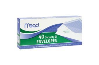 Mead Boxed Envelopes 10cm x 24cm 40/Pkg
