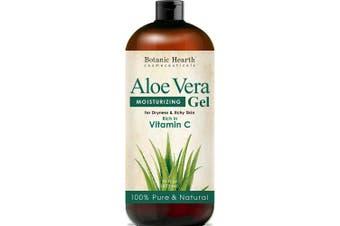 Botanic Hearth Aloe Vera Gel - From 100% Pure and Natural Cold Pressed Aloe Vera, 470ml