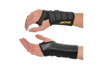 (Left, Large) - Wrist Support – Adjustable & Breathable Wrist Brace Splint – Perfect for Carpal Tunnel, Arthritis, Tendonitis, Sprains, and More (Left, Large)