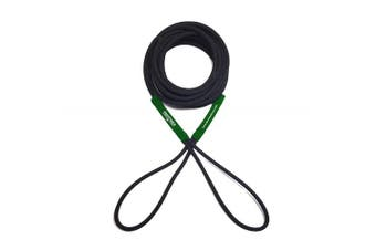 (7.6m, Black/Green) - Boat Line Rope Bungee - Heavy Duty Line for Launching, Retrieving, Mooring and Docking