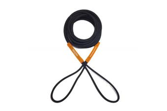 (4.6m, Black/Orange) - Boat Line Rope Bungee - Heavy Duty Line for Launching, Retrieving, Mooring and Docking