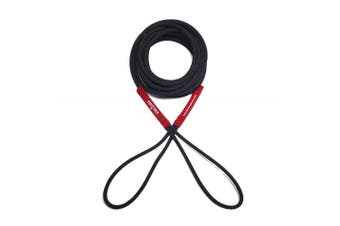 (4.6m, Black/Red) - Boat Line Rope Bungee - Heavy Duty Line for Launching, Retrieving, Mooring and Docking