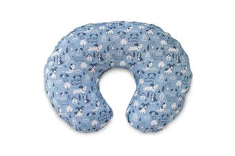 Boppy Cotton Blend Nursing Pillow and Positioner Slipcover, Blue Dog Park