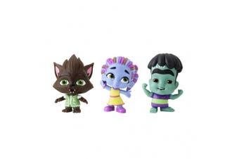 Netflix Super Monsters Set of 3 Collectible 10cm Figures Monster Trio ()
