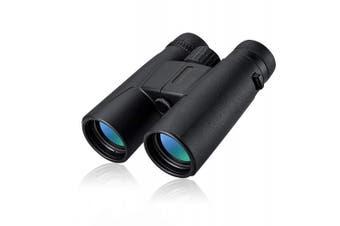 12x42 Binoculars Compact HD Professional Daily Waterproof Binoculars Telescope with Superior BAK4 FMC Prism,Perfect for Adults Bird Watching Travel Hiking