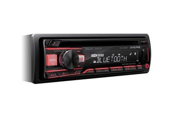 Alpine CDE-203BT Car Radio - Black