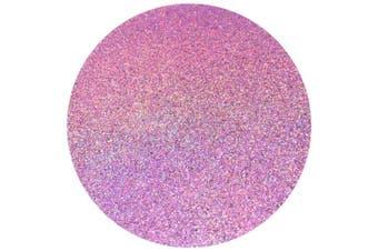 "(PINK HOLOGRAPHIC) - Hemway Craft Glitter 100g 100ml Ultrafine 1/128"" .008"" 0.2MM (Pink Holographic)"