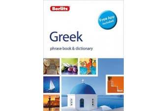 Berlitz Phrasebook & Dictionary Greek(Bilingual dictionary) (Berlitz Phrasebooks)