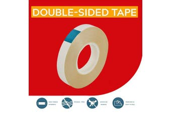 GiveU 28 Yards Two Removable Mounting Double Sided Adhesive Tape, One Size, White