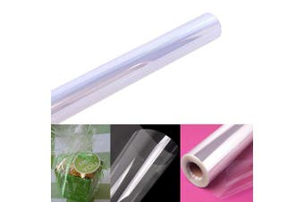 "Clear Cellophane Wrap Roll | 100' Ft. Long X 16"" in. Wide 