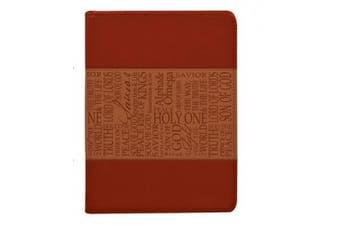 Tan Names of Jesus Luxleather Journal