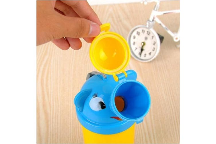 BYETOO Portable Baby Child Potty Urinal Emergency Toilet for Camping Car Travel and Kid Toddler Potty Pee Training (boy)
