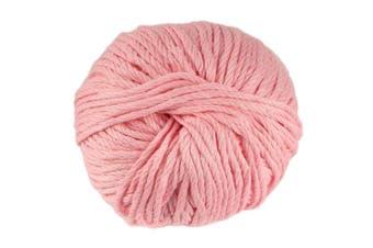 (2 Skeins, Primrose Pink) - JubileeYarn Bamboo Cotton Chunky Yarn - Primrose Pink - 2 Skeins