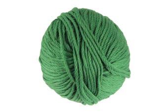 (2 Skeins, Shamrock Green) - JubileeYarn Bamboo Cotton Chunky Yarn - Shamrock Green - 2 Skeins
