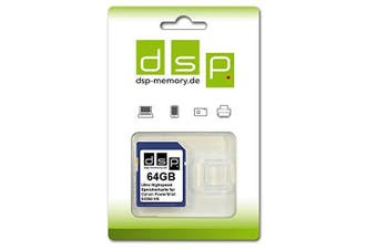 (64GB Ultra Highspeed) - DSP Memory Z 4051557428409 64GB Ultra High Speed Memory Card for Canon PowerShot SX260 HS Digital Camera