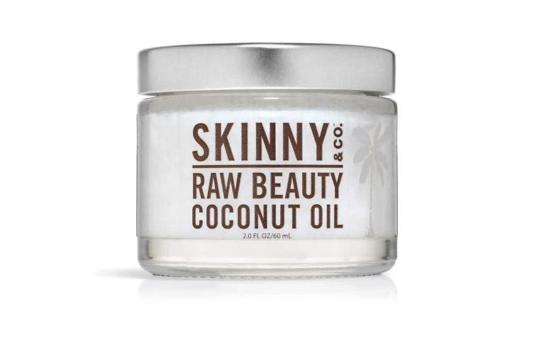 SKINNY and CO. Raw Beauty Coconut Oil 60ml 100% RAW NutraLock Cocos Nucifera (coconut) Oil