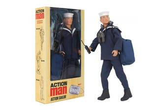 Action Man 2018 Action Sailor Deluxe Boxed Action Figure