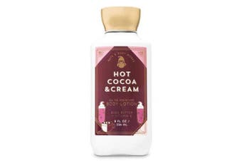 Bath and Body Works Hot Cocoa & Cream Super Smooth Shea Butter and Vitamin E Body Body Lotion 240ml
