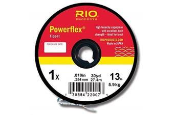 (23kg) - Rio Powerflex Tippet Material 30 yd. Spool - Fly Fishing
