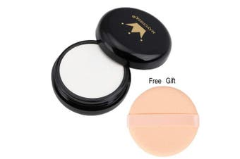 (special effect white) - CCbeauty Special Effects White Pressed Powder Compact Cosplay Gothic Vampire Zombie Concealer