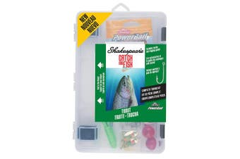 (Trout) - Shakespeare Catch More Fish Tackle Box Kit