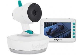 (Twin Pack YOO Moov) - Babymoov YOO Moov Motorised Video Baby Monitor