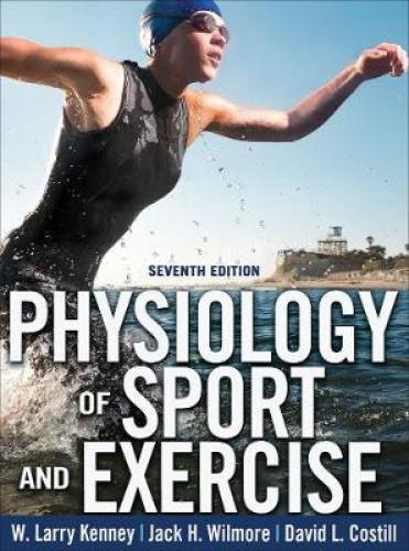 Physiology of Sport and Exercise 7th Edition With Web Study Guide Textbook for undergraduate courses in exercise physiology. A reference for graduate students in exercise science, exercise scientists, sports medicine specialists, physicians, athletic trainers, kinesiotherapists, physical therapists, physical educators, and fitness specialists.  About the Author W. Larry Kenney, PhD, is the Marie Underhill Noll Chair in Human Performance and a professor of physiology and kinesiology at Pennsylvania State University at University Park. He received his PhD in physiology from Penn State in 1983. Working at Noll Laboratory, Kenney is researching the effects of aging and disease states such as hypertension on the control of blood flow to human skin and has been continuously funded by NIH since 1983. He also studies the effects of heat, cold, and dehydration on various aspects of health, exercise, and athletic performance as well as the biophysics of heat exchange between humans and the environment. He is the author of more than 200 papers, books, book chapters, and other publications.   Kenney was president of the American College of Sports Medicine from 2003 to 2004. He is a fellow of the American College of Sports Medicine and is active in the American Physiological Society.   For his service to the university and his field, Kenney was awarded Penn State University's Faculty Scholar Medal, the Evan G. and Helen G. Pattishall Distinguished Research Achievement Award, and the Pauline Schmitt Russell Distinguished Research Career Award. He was awarded the American College of Sports Medicine's New Investigator Award in 1987 and the Citation Award in 2008.     Kenney has been a member of the editorial and advisory boards for several journals, including Medicine and Science in Sports and Exercise, Current Sports Medicine Reports (inaugural board member), Exercise and Sport Sciences Reviews, Journal of Applied Physiology, Human Performance, Fitness Management, and ACSM's Healt