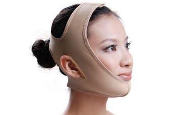 (Large) - BUYITNOW Women's Face Slim Mask V-Line Chin Cheek Lift Up Band Anti Wrinkle Belt