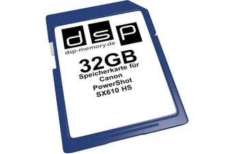 (32GB) - 32GB Speicherkarte für Canon PowerShot SX610 HS