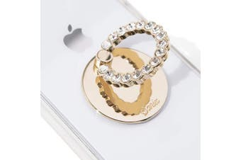 (Clear) - Sonix Embellished Rhinestone Phone Ring - Clear