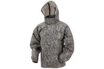 (Small, Mossy Oak Bottomland) - Frogg Toggs All Sport Rain Suit
