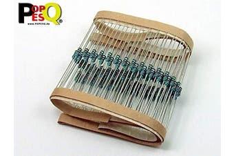 POPESQ® 100 pcs. x Resistor 270 KOhm (270K) 0.6W (Suitable also as 0.25W or 0.5W) Metal film (1%) #A2448