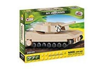 Cobi COB02240 Nano - Abrams Tank(78 Pcs) Toy, Various