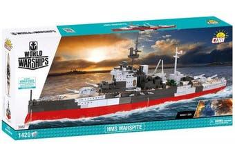 Cobi /3082/ World Of Warships, HMS WARSPITE 1400 Building Bricks