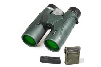 (black) - 10x42 Binoculars for Adults, Compact HD Professional Binoculars for Bird Watching, Travel, Stargazing, Camping, Concerts, Sightseeing