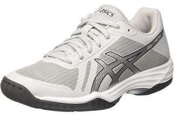 (5.5 UK, Grey (Glacier Grey/Silver/Dark Grey)) - ASICS Women's Gel-Tactic Volleyball Shoes