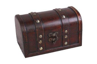 Ligero - wooden Pirate´s treasure chest storage box 17x10x10cm