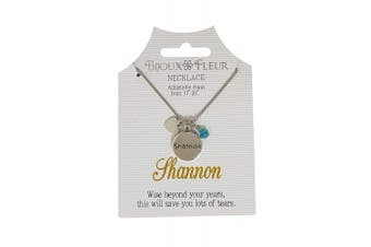 Bijoux Fleur Necklace with The Name Shannon