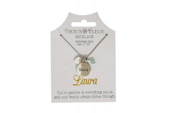 Bijoux Fleur Necklace with The Name Laura