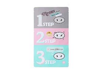(3 Set) - [Holika Holika] Pig Nose Clear Black Head 3-Step Kit (3 Set)
