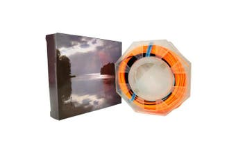 (7F/S, Black/orange,ips3-4) - Aventik Sinking Tip Fly Line Fly Fishing Weight Forward Line Tapered Freshwater Floating Sinking Tip Line with one Welded Loop100 FT 3-4IPS/5-6IPS