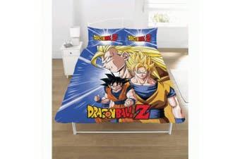 (Double, Multicolour) - Dragon Ball Z Duvet Set, POLYCOTTON, Multi, DOUBLE