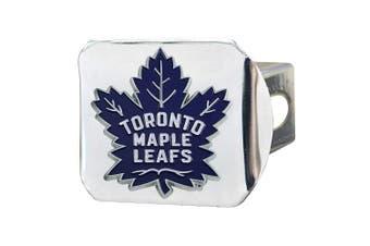 Fanmats NHL Toronto Maple Leafs Colour Hitch - Chromecolor Hitch - Chrome, Team Colours, One Sized