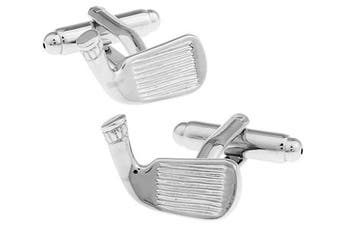 Ashton and Finch Golf Club Cufflinks in a Free Luxury Presentation Box. Novelty Golf Sport Theme Jewellery